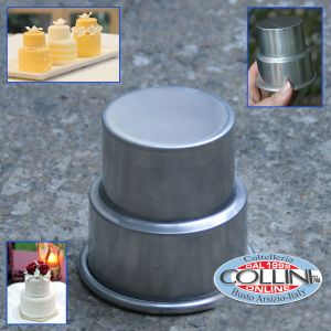 Decora - Mould aluminum mini cake pan