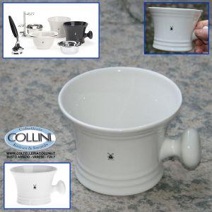 Muhle - Shaving mug  porcelain white RN4