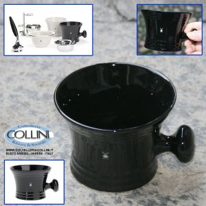 Muhle - Shaving mug , porcelain black RN 46