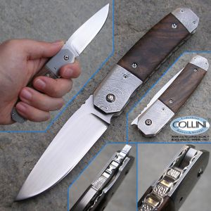 Sergio Consoli - N°098 Folding Walnut - Custom Knife