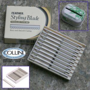Feather - 10 Lame in acciaio inox per Sfilzino