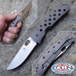 Buck 171 Mayo Waimea BOS S30V Titanium Framelock Folding Pocket knife