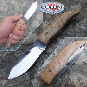 Citadel - Ola in plane tree wood - custom knife