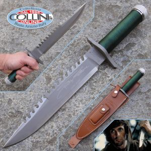 Hollywood Collectibles Group - Rambo I knife - First Blood with Sylvester Stallone Signature - knife