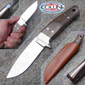 Cesare Tonelli - Drop Point Integral - custom knife