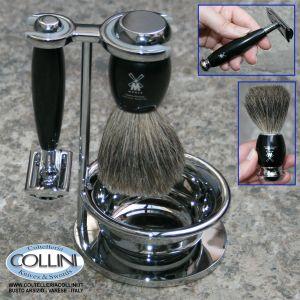 Muhle - Set da barba con ciotola - color nero