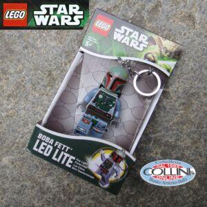 LEGO Star Wars - Boba Fett Mandalorian LED Keychain - led light