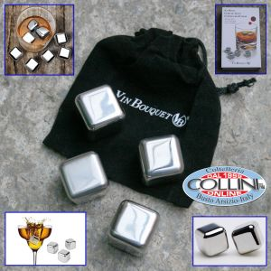 Vin Bouquet - Cubes in stainless steel - cooler alcohol