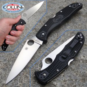 Spyderco - Endura Flat Ground - Black - C10FPBK - Knife