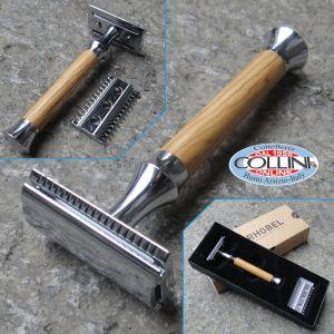 Giesen & Forsthoff - Timor - Safety Razor - Olive Wood100mm - 42098