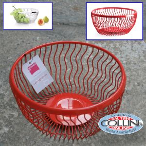 Giannini - Carrier basket wire - Extragourmet - Red