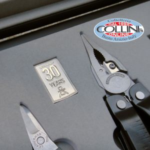 Leatherman - Cofanetto 30th Anniversary Limited Edizion - Super Tool 300 + Micra - Pliers