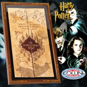 Harry Potter - Marauder's Map with showcase