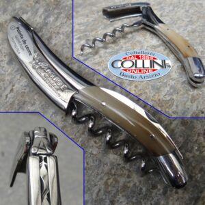 Laguiole en Aubrac - Sommelier Corkscrew in horn tip