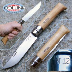 Opinel - N°12 Inox Faggio - Coltello