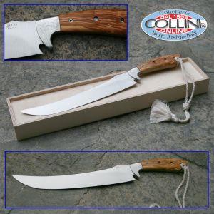 Saladini - Sabre sabrage cm. 45 Olive wood handle