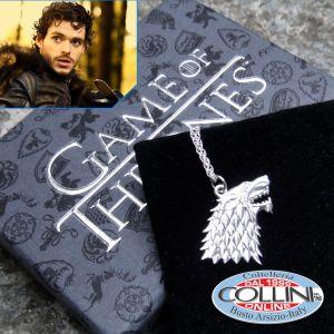 Game of Thrones - House Stark Silver Pendant - NN0065
