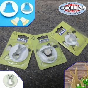 PME - 3-piece set  bell and bunny cutter set