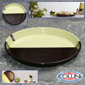 Riess - Round enamel baking tray for pizza - Sarah Wiener cm Edition. 32 (household items