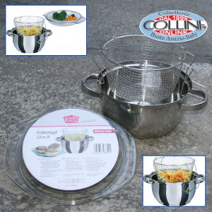 GSW - Pan for fried stainless steel cm. 22-3 pieces
