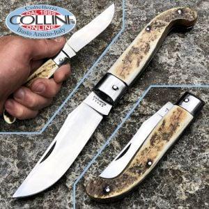 Conaz Consigli Scarperia - Zuava knife 19 cm raw ox horn 50309 - knife