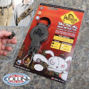 Maxpedition - Tactical Gear Retractor - Green Medium Snap Ring - RM1G - Keychain