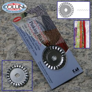 Kai - Disco ricambio taglio zig zag per rotella - 5045 PBL - tessuto
