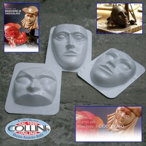 Made in Italy - Plastic molds for chocolate masks
