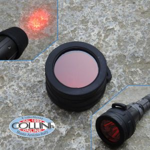 Nitecore - NFR40 - Filtro Rosso da 40mm per MH25S e TM9K - Accessori Torce Led