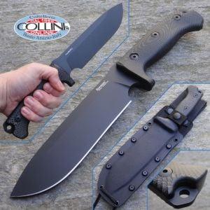 Lion Steel - M7 TiNi - Black Canvas Micarta - M7MB - knife