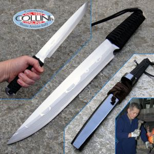 Takeshi Saji - Mikaduki 270 Black - Custom Knife