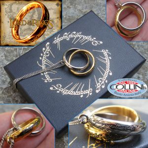 Lord of the Rings - Pendant - The One Ring intertwined - products from films