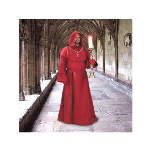Museum Replicas Windlass - 100298 Monks Robe Red - Medieval clothing