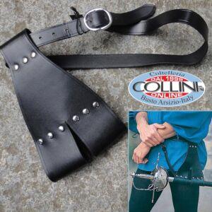 Museum Replica Windlass - cintura in cuoio con porta spada rapier 200358 - abbigliamento