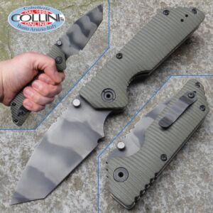 Strider Knives - AR Tiger Stripe Coyote Tan - knife