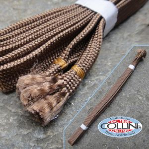 Sageo - Kakucho Brown Cotton - 2.3m. - Katana accessories