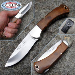 Fox - 576 hunting knife burl tuja - knife