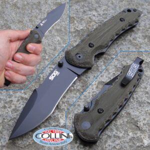 SOG - Kiku Small Black TiNi - KU1002 - knife