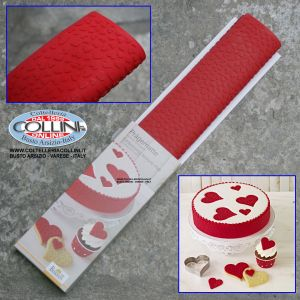 Birkmann - decorative silicone mat for cakes and biscuits - HEART