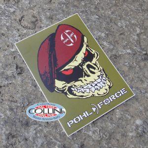 Pohl Force - Sticker Adesivo - Maroon Beret Skull - Gadget
