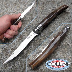 Opinel - handmade horn les Effilés steel knife # 10