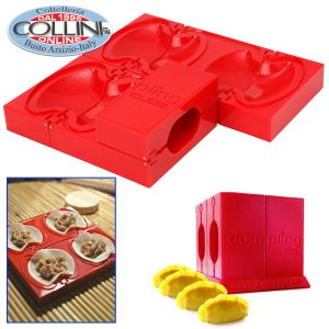 Dumpling Cube - Mould and shaper for Chinese dumplings, sweet and salt