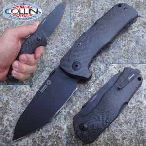 Lion Steel - TM-1 Solid Carbon Fiber - Black TiNi - TM1CB - knife
