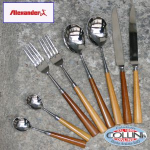 Alexander - Forged Cutlery Set for 2 - NOCE