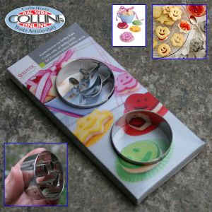 kie cutter  smiley   - Stainless Steel 2Stadter - Coo-pcs (household items)