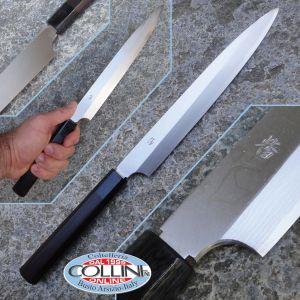 Takefu Knives Village Serie Mina Yanagiba 24 cm coltello artigianale giapponese
