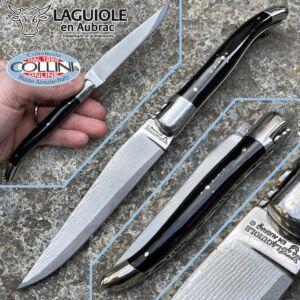 Laguiole En Aubrac - Buffalo horn with sanmai Japanese blade - knife collection