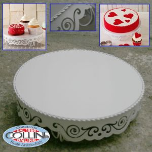 Birkmann -  Cakestand in lacquered metal - 30 cm