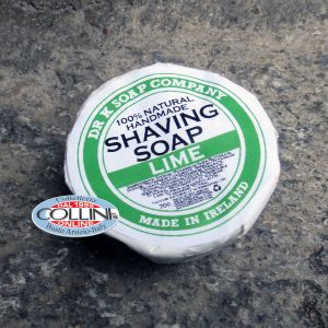 Dr K Soap Company - shaving soap - lime - Made in Ireland