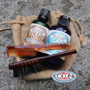 Dr K Soap Company - Beard Care Set - Tonic and Facial Soap - Made in Ireland